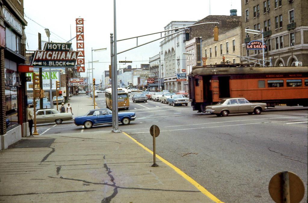 South Bend in 1968. (David Wilson via  Flickr )
