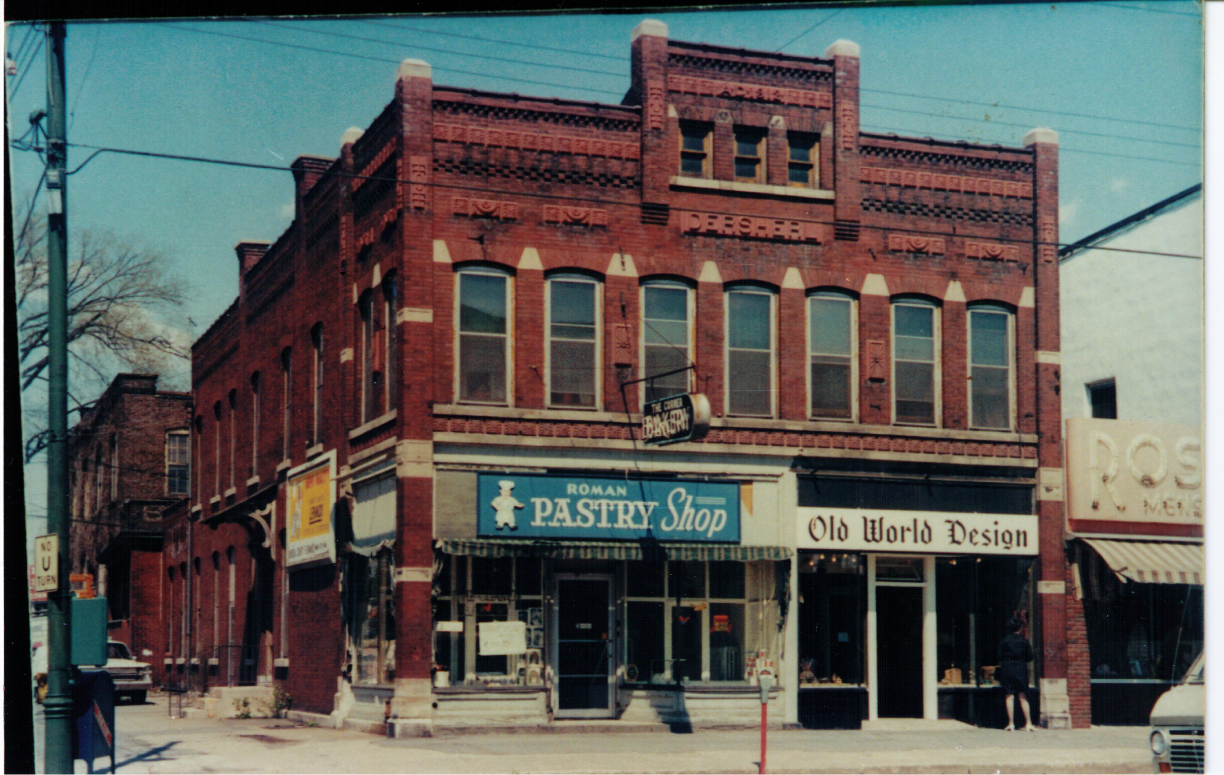 Minicozzi's Uncle Joe owned and operated Roman's Pastry Shop before it was obtained through eminent domain and leveled for construction of the fort.