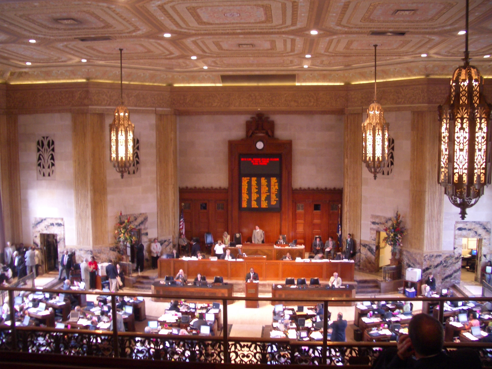 Louisiana House of Representatives (Source: Wikimedia Commons)