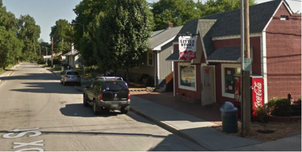 Image: Google. The Little Store in North Kansas City is only the size of a two-car garage, but is a lovable asset to a residential neighborhood. Operating under the right standards, a garage-to-bodega conversion can be a path for an aspiring local entrepreneur.