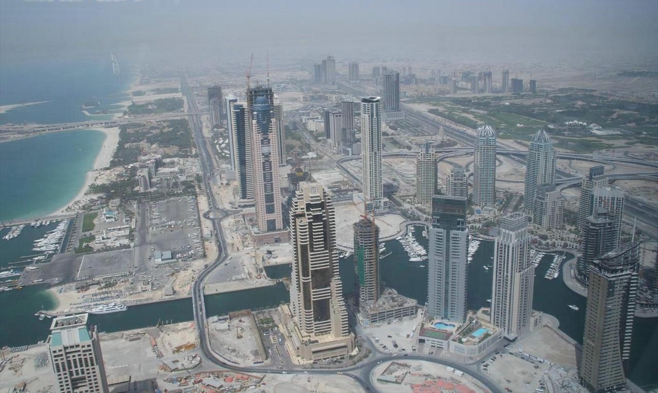 New subdivisions being developed in Dubai. ( Source )