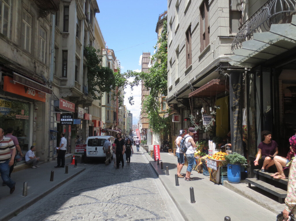A street in Turkey. Photo by Johnny Sanphillippo.