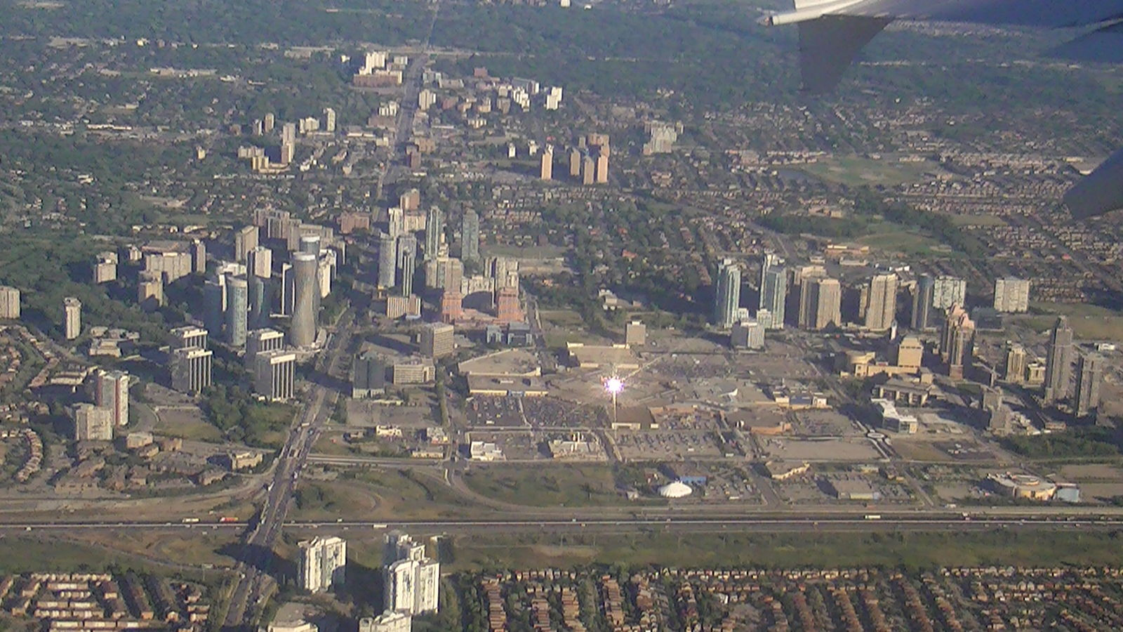 Downtown Mississauga. Mississauga is Canada's sixth-largest and fastest growing city. Photo via  Adam Bishop .