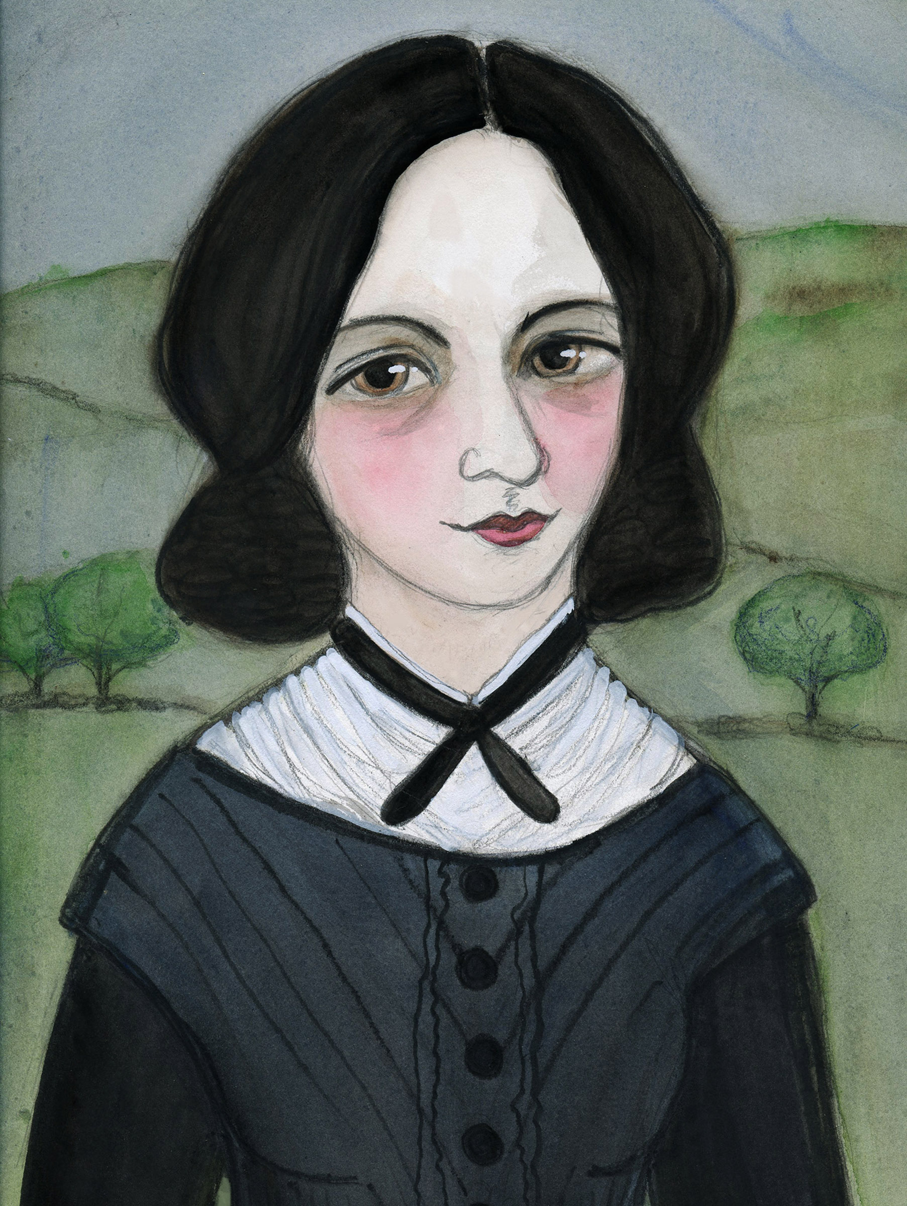 Emily Bronte and her Wuthering Heights