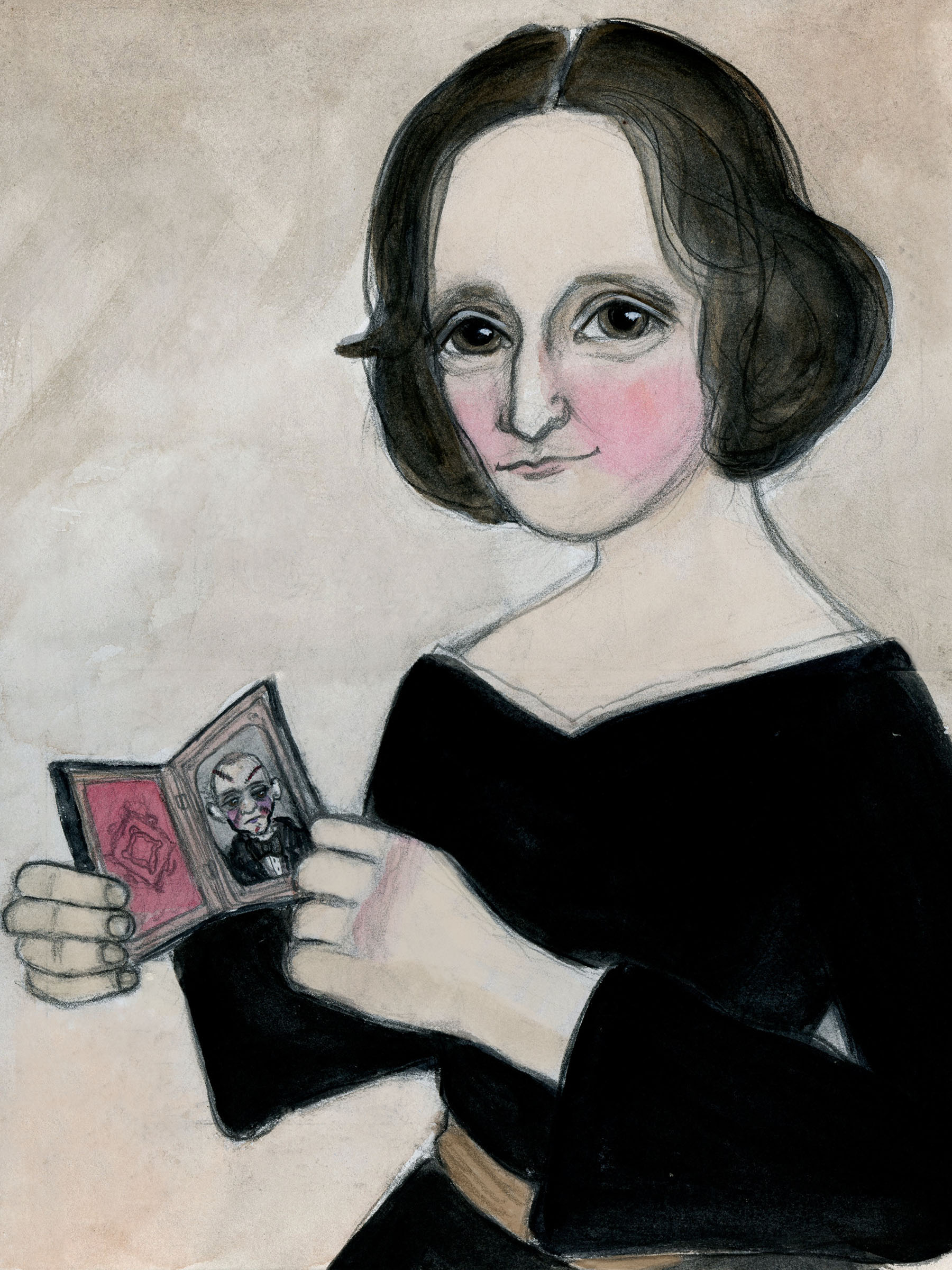 Mary Shelley and her Monster
