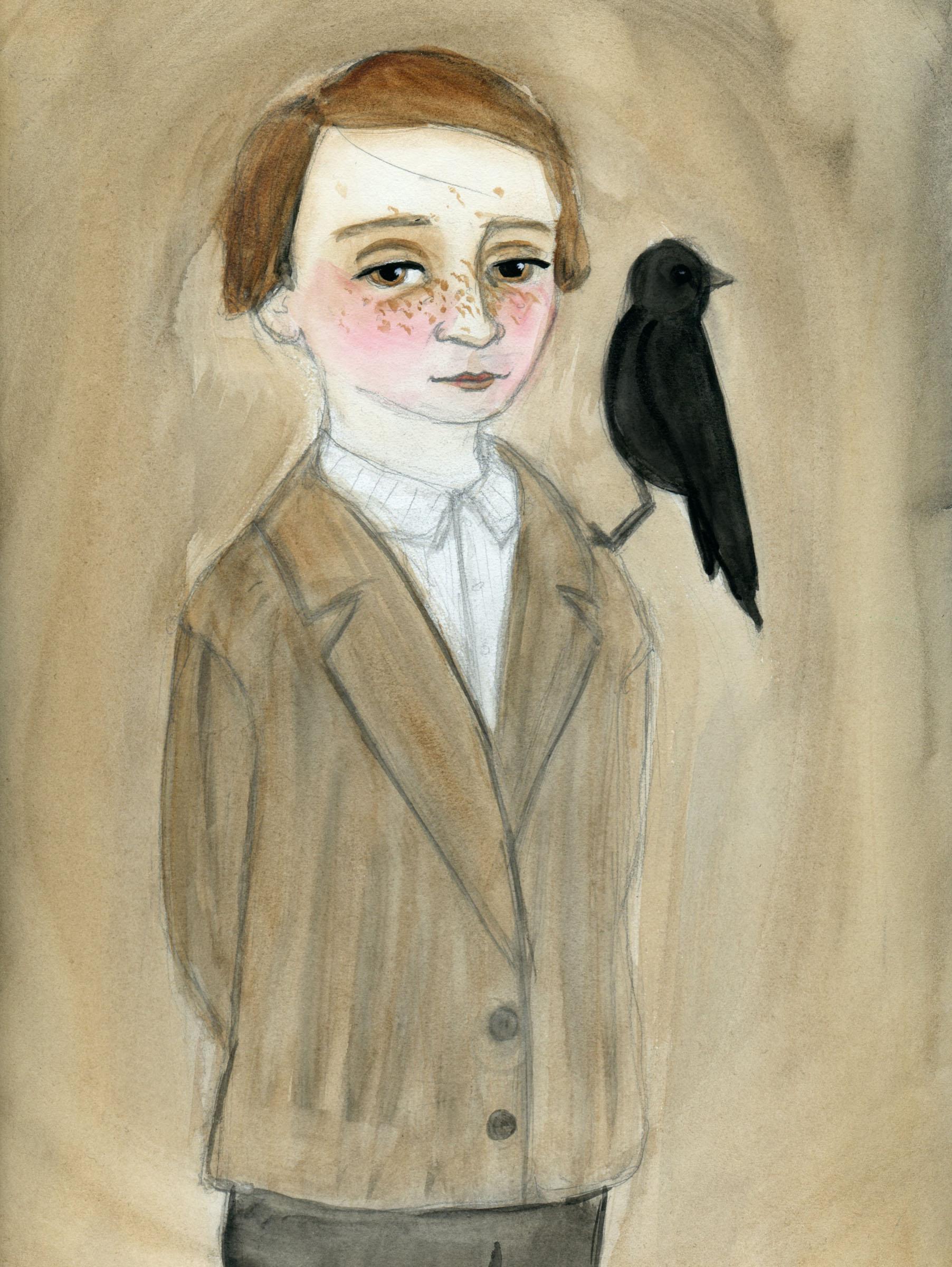 Patrick and His Black Bird