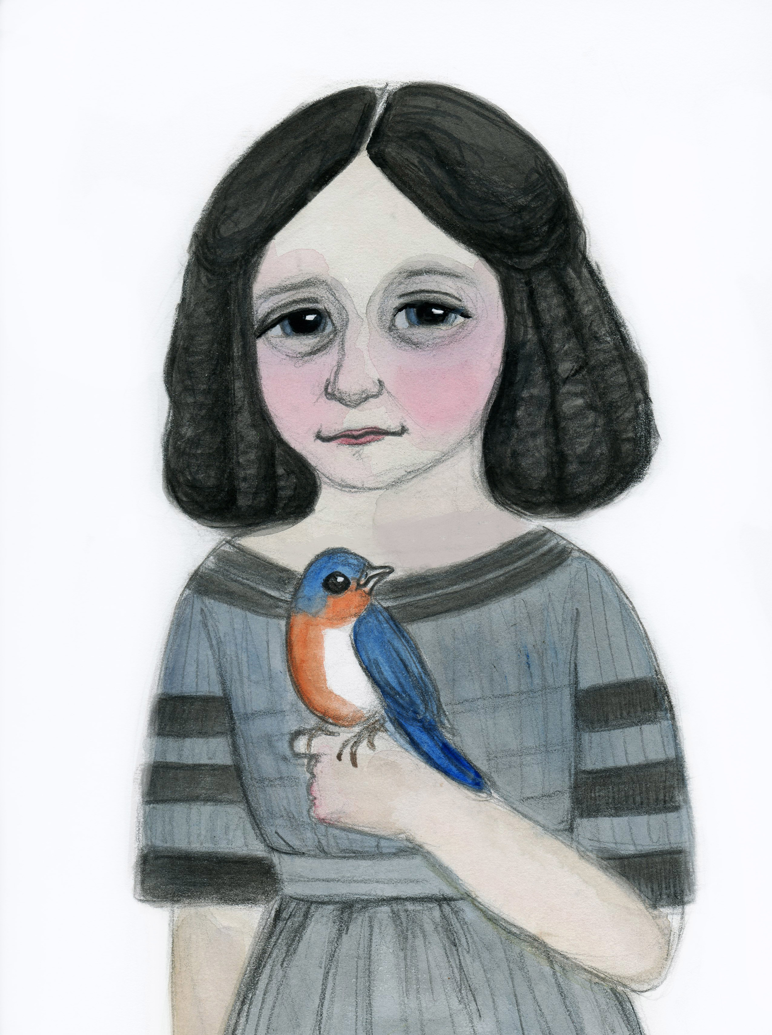 Edwina and her Bluebird