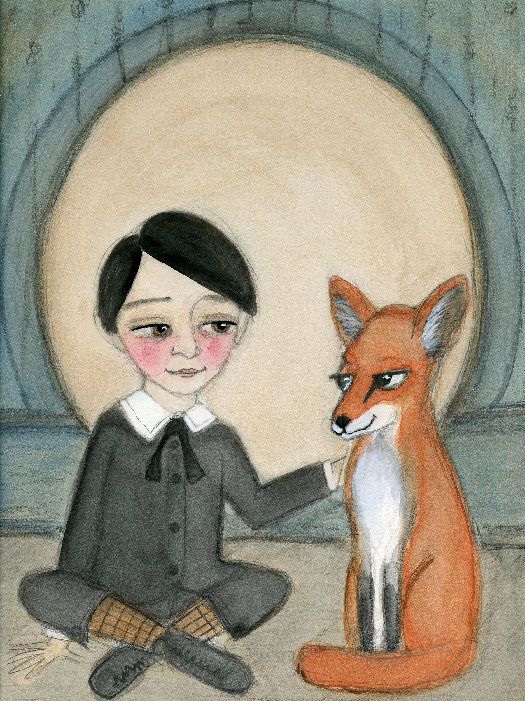 Billy and the Red Fox
