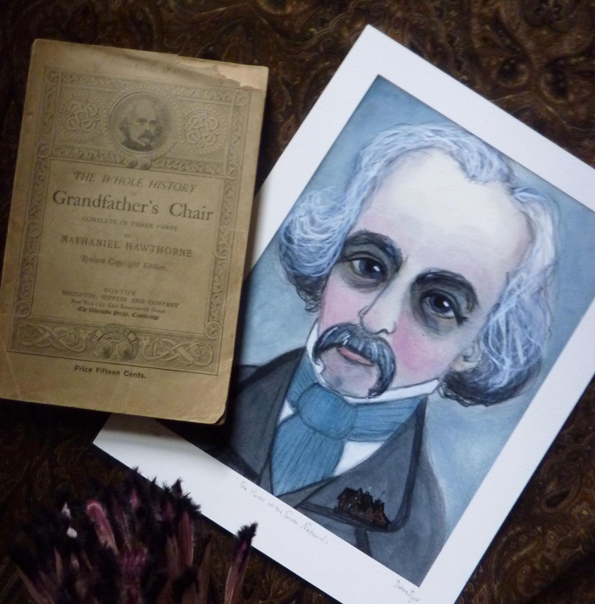 Nathaniel Hawthorn Art Print