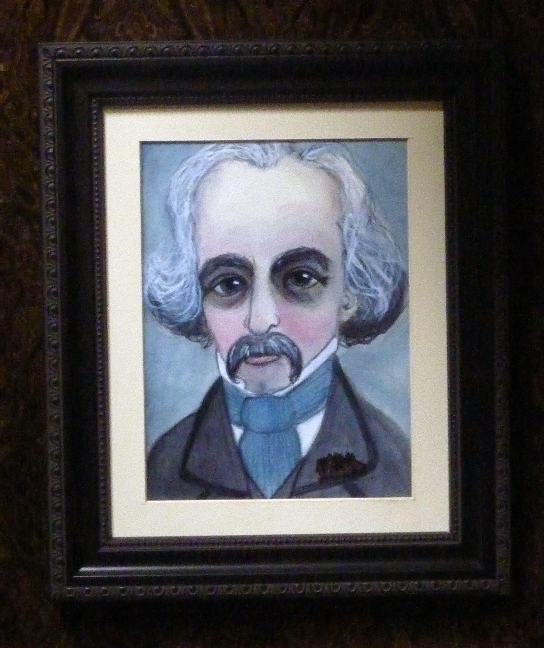 Nathaniel Hawthorne Framed Art Print