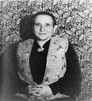 Carl Van Vechten,  Portrait of Gertrude Stein,  1934
