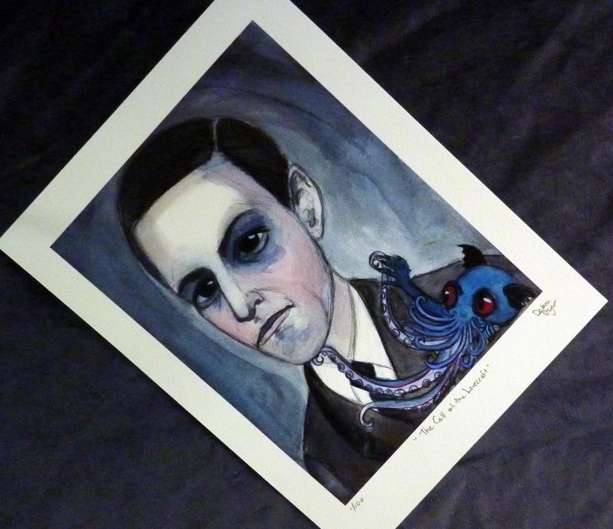 h.p.lovecraft Art Print