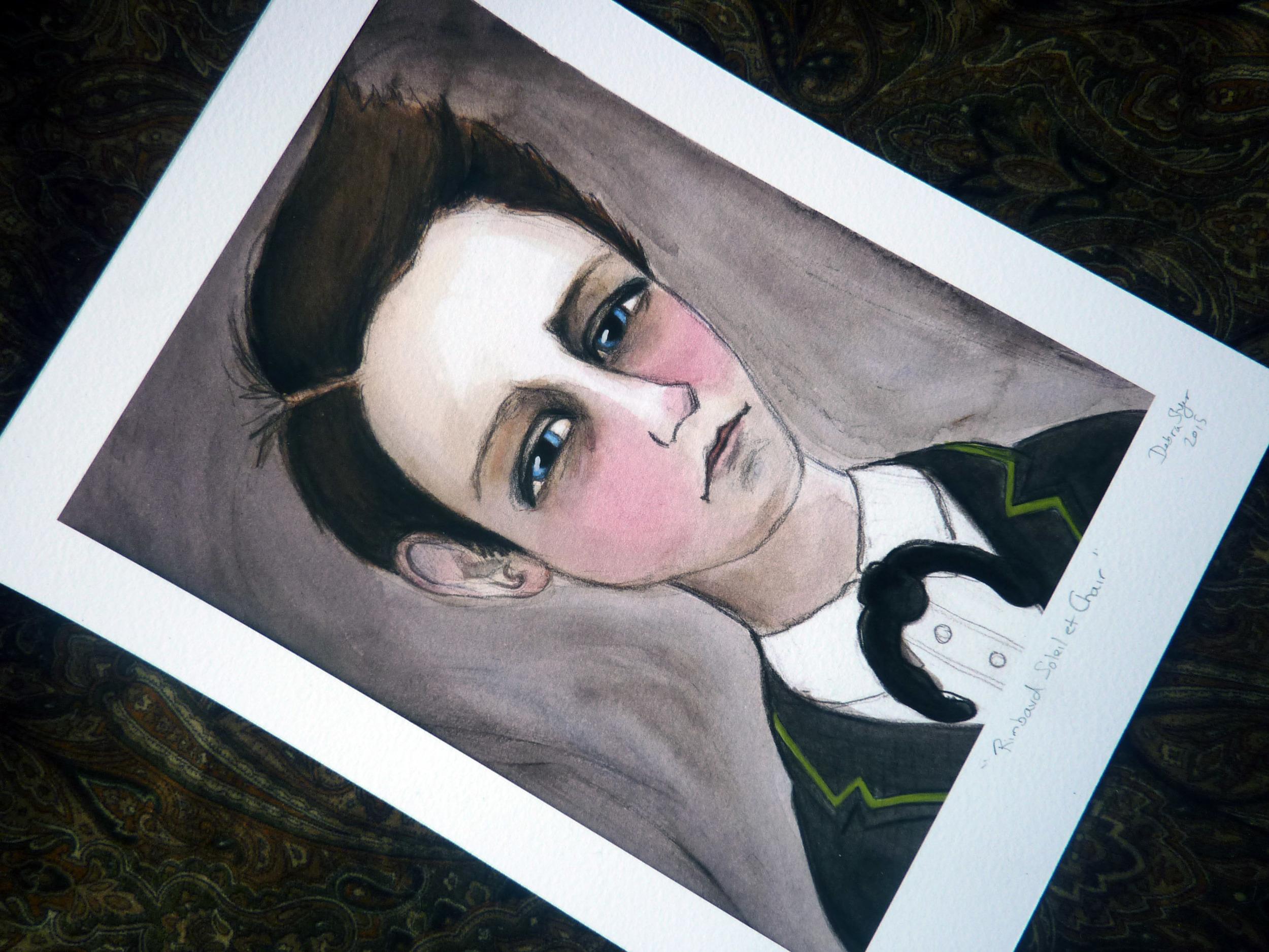 Arthur Rimbaud Unframed art print