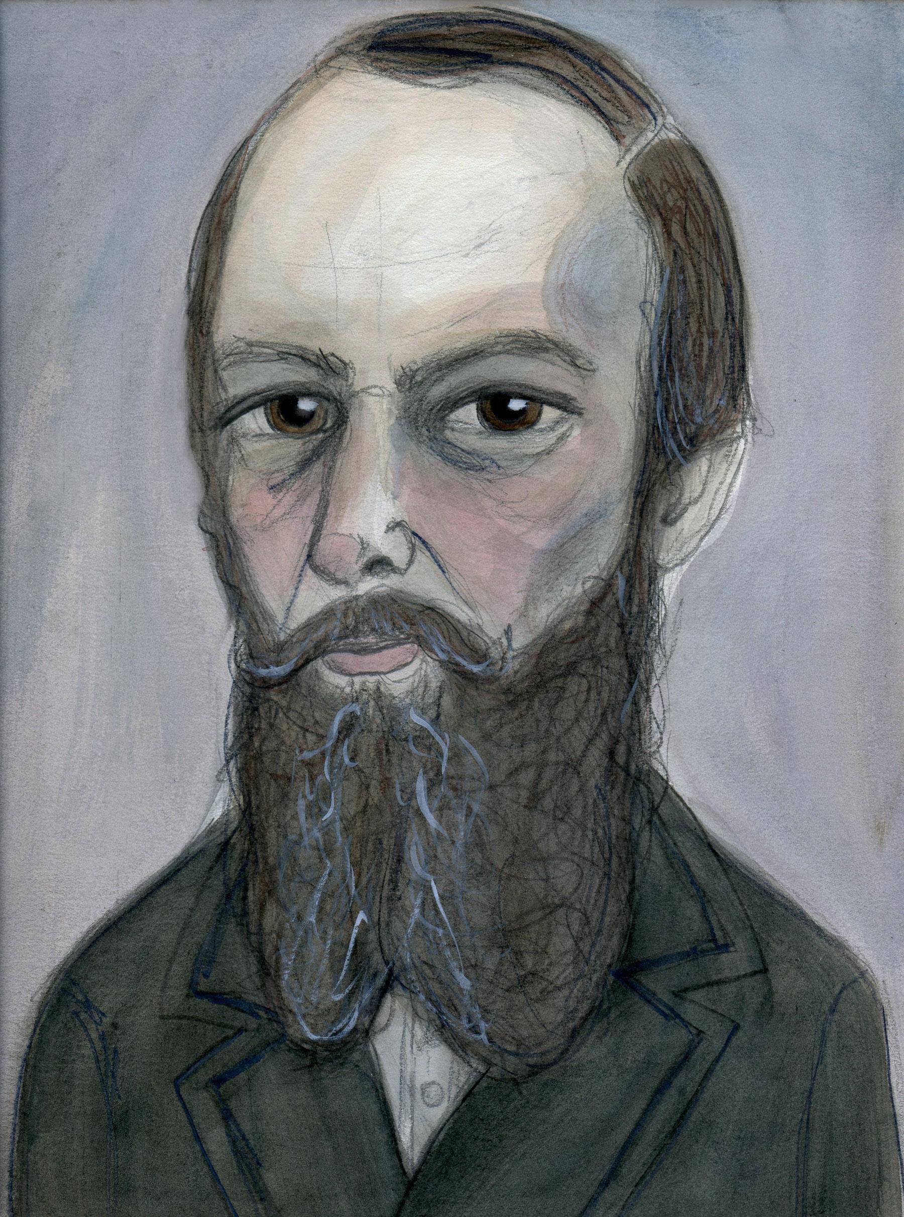 Fyodor Dostovevsky Art Print
