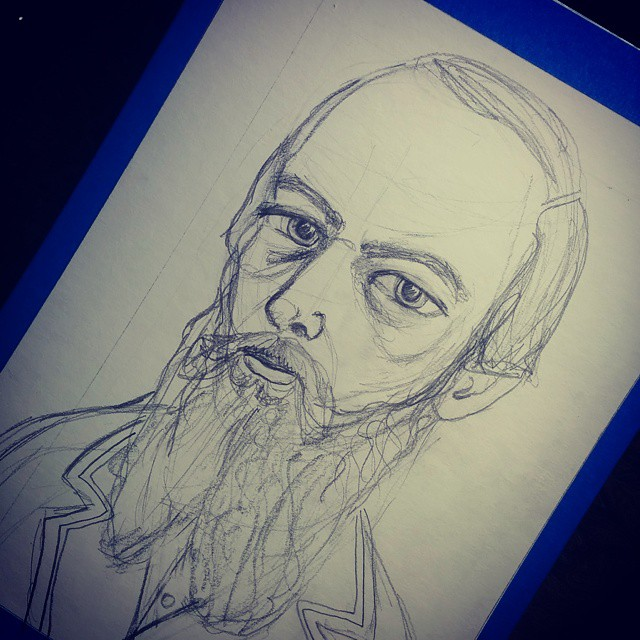 Dostoyevsky Sketch