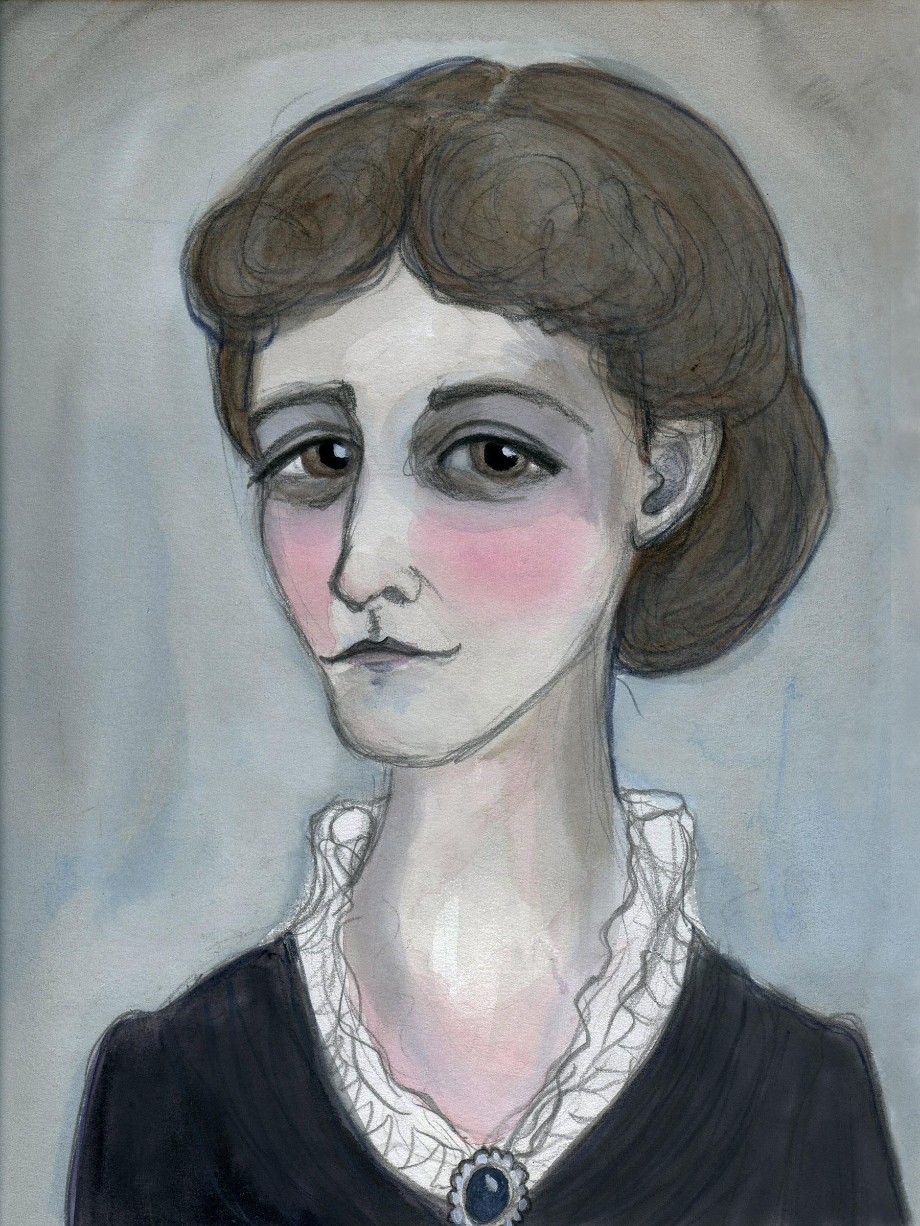 Edith Wharton Literary Portrait