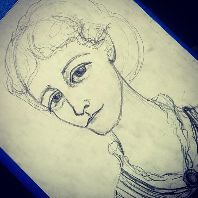 Edith Wharton Sketch