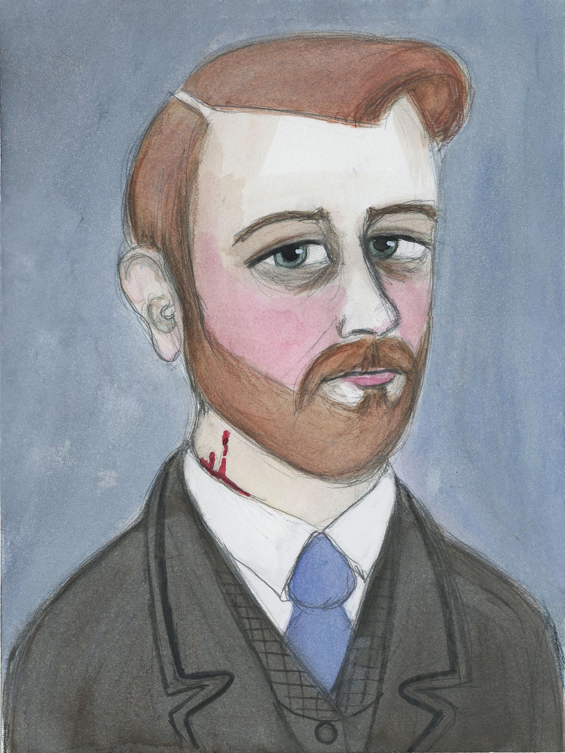 Bram Stoker Portrait