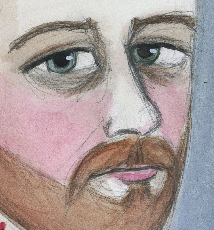 Bram Stoker Closeup