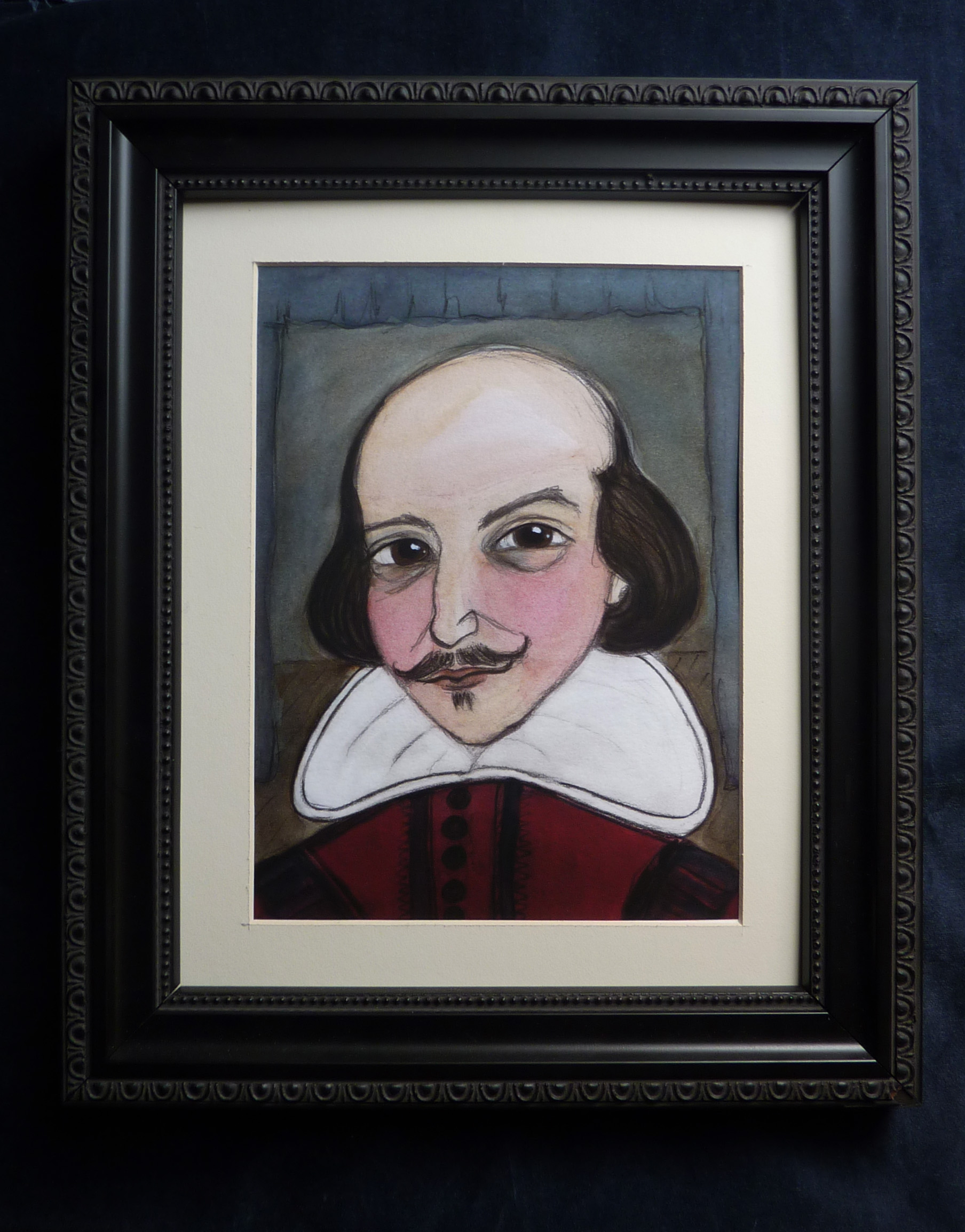 William Shakespeare Literary Portrait