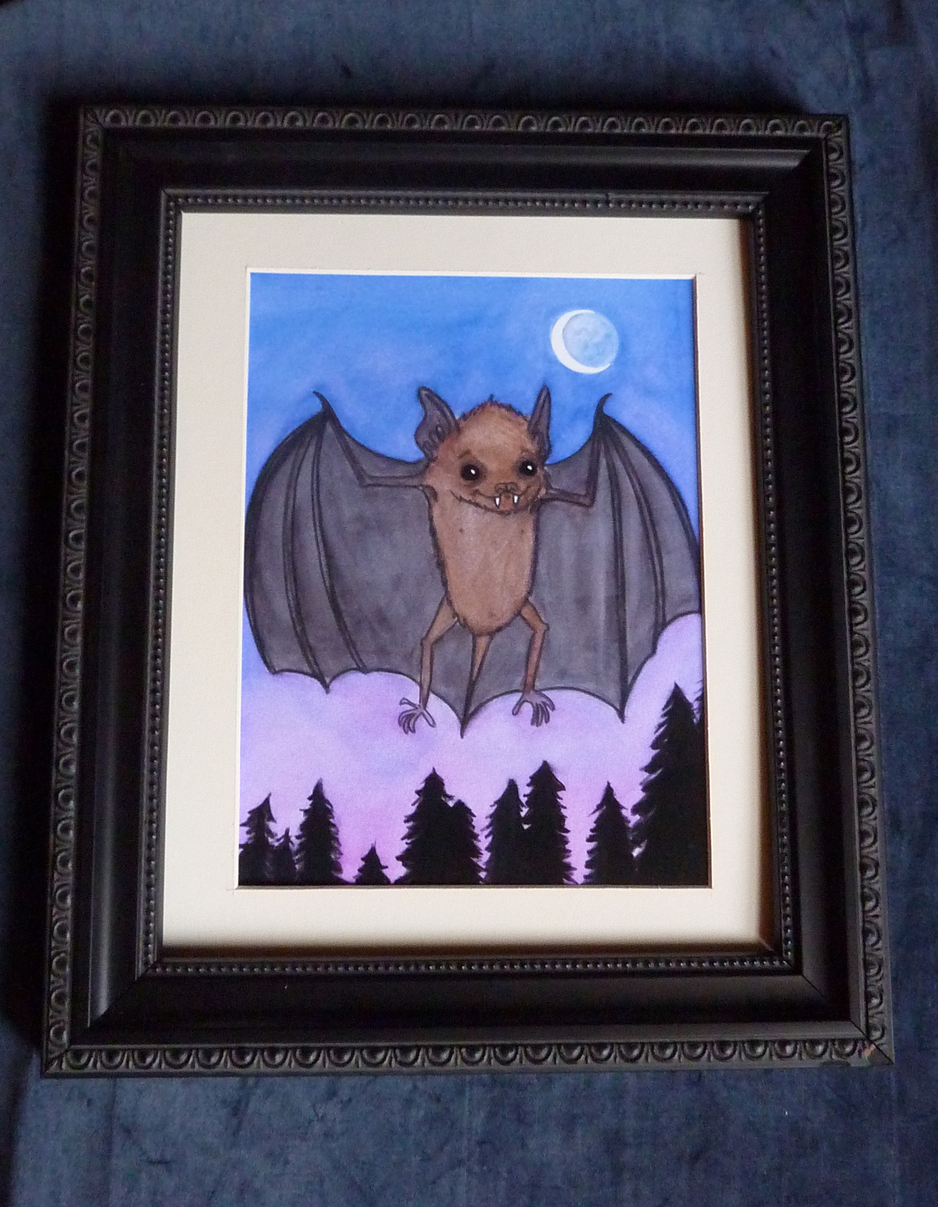 Herman Bat FRamed