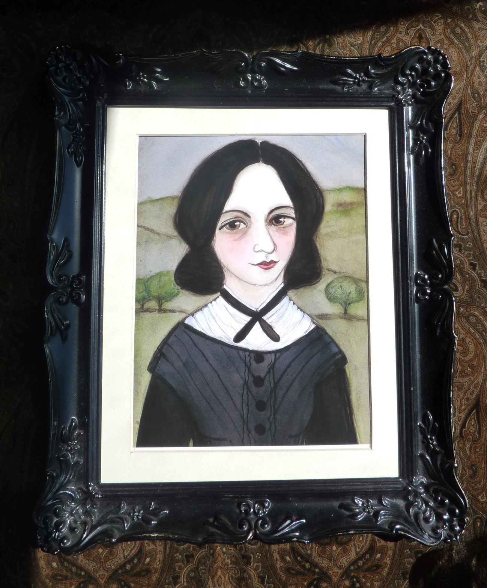 Emily Bronte Framed