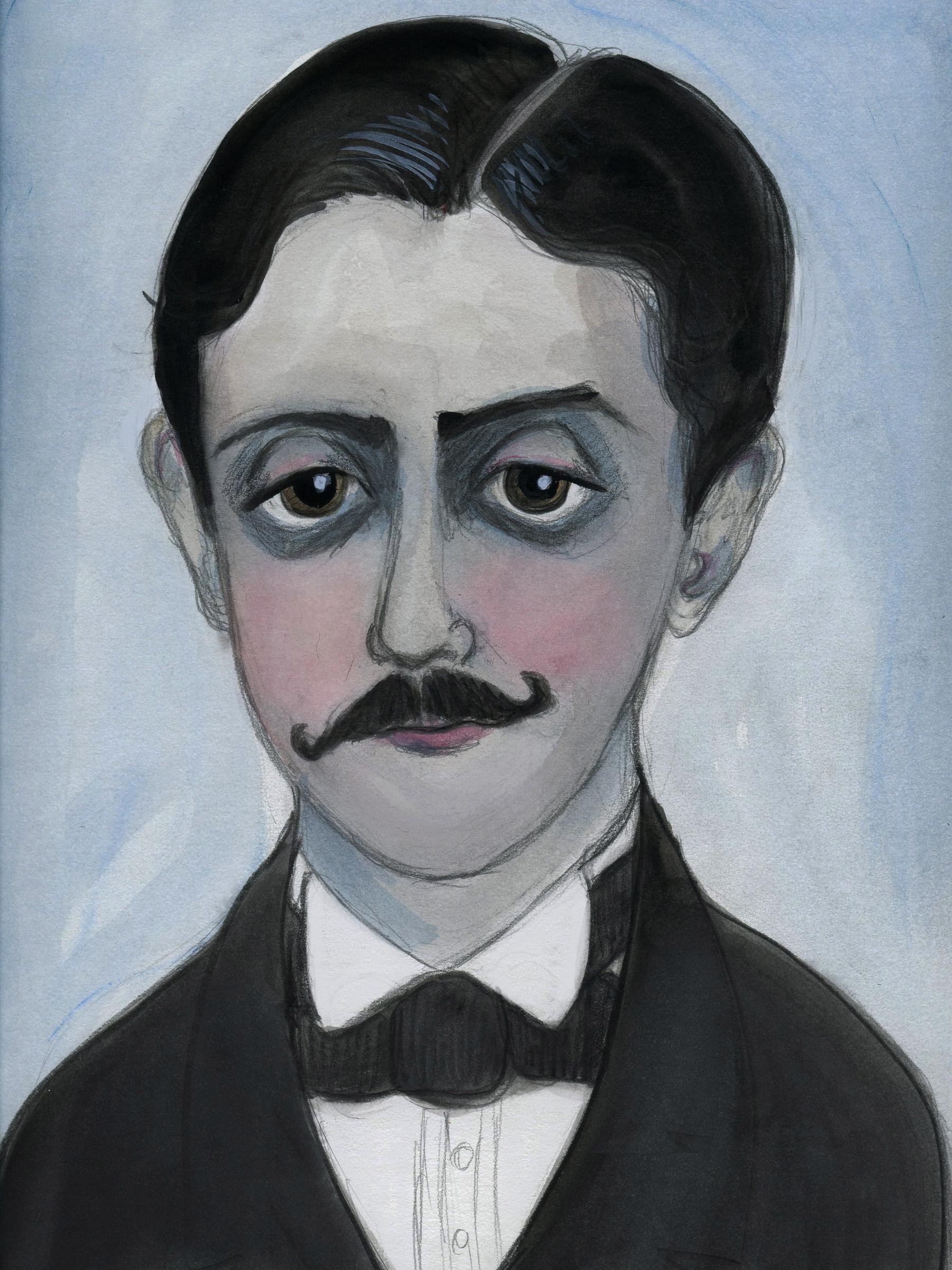 Marcel Proust Literary Portrait