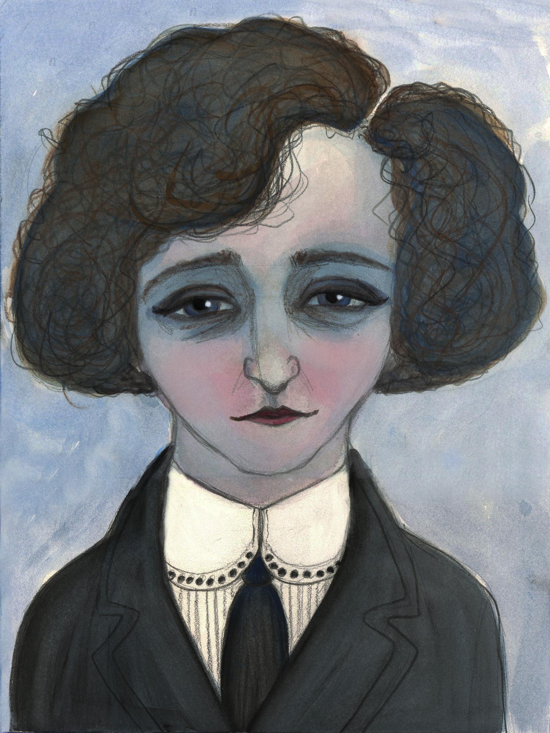 "Debra Styer, ""La Vagabond Colette"", 2016"