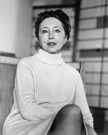 Portrait of Anaïs Nin in the 1970s by  Elsa Dorfman