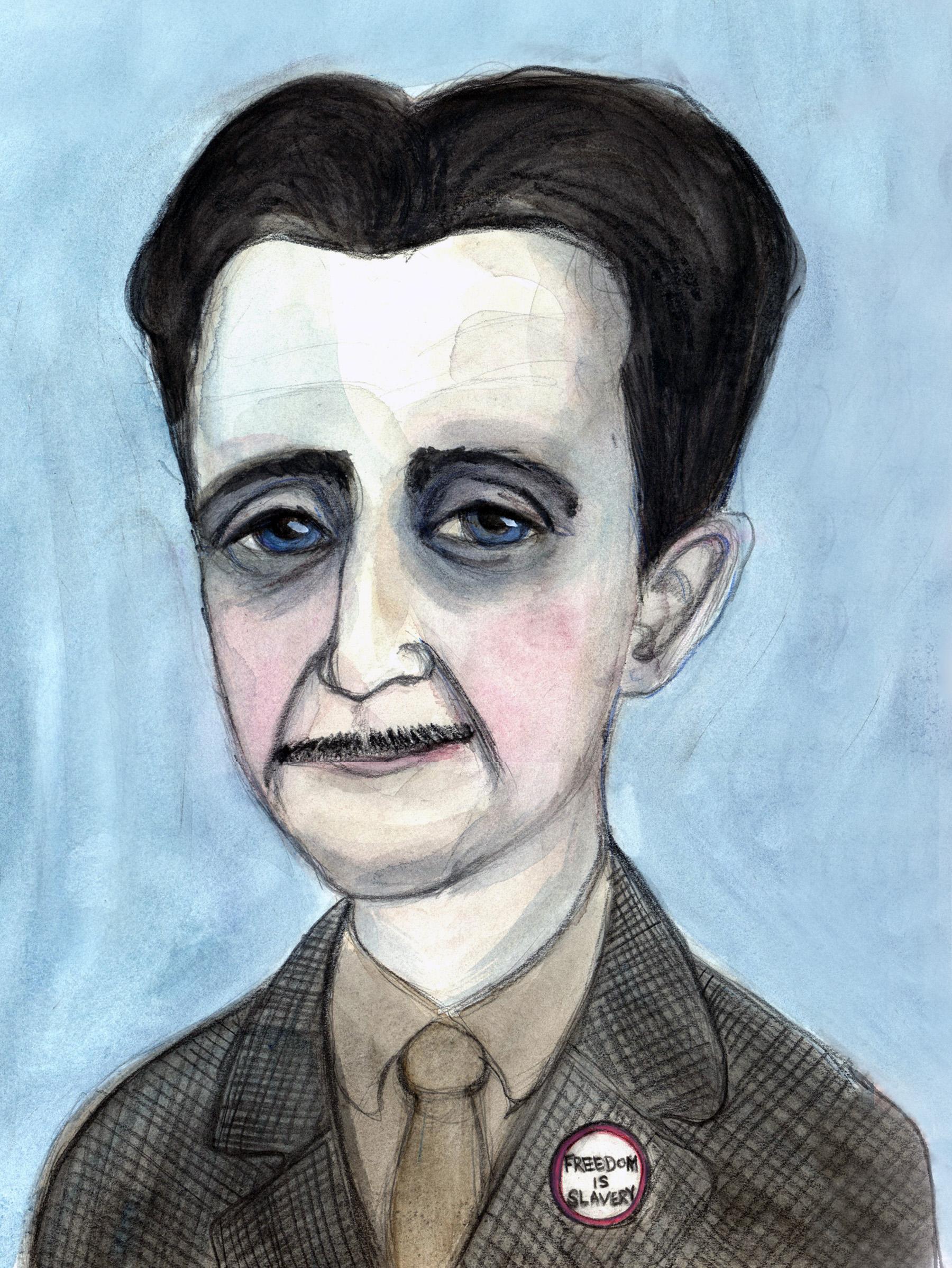 George Orwell Literary Portrait