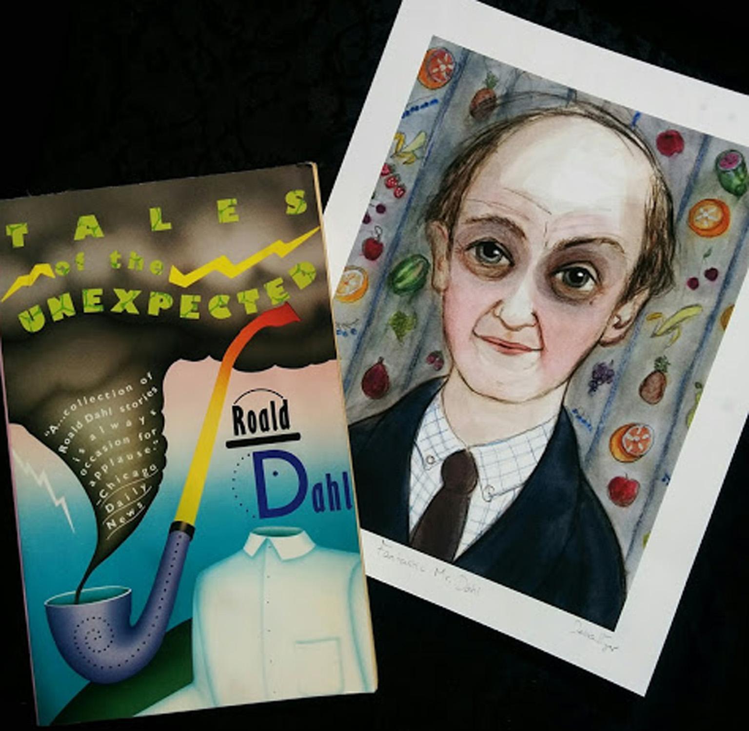 Roald Dahl Portrait Unexpected Tales