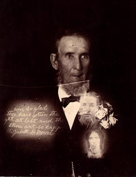 Edward Wyllie Spirit Photograph c. 1900