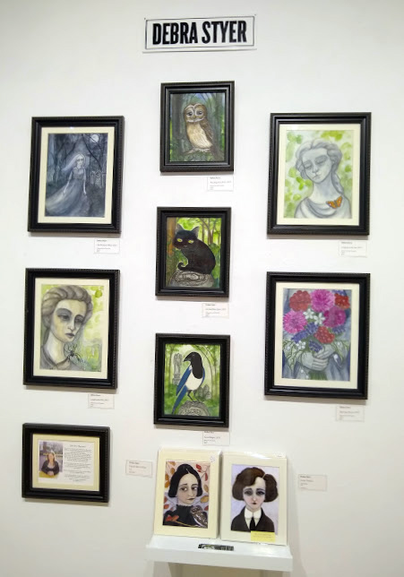 My October gallery wall at City Art Gallery in San Francisco