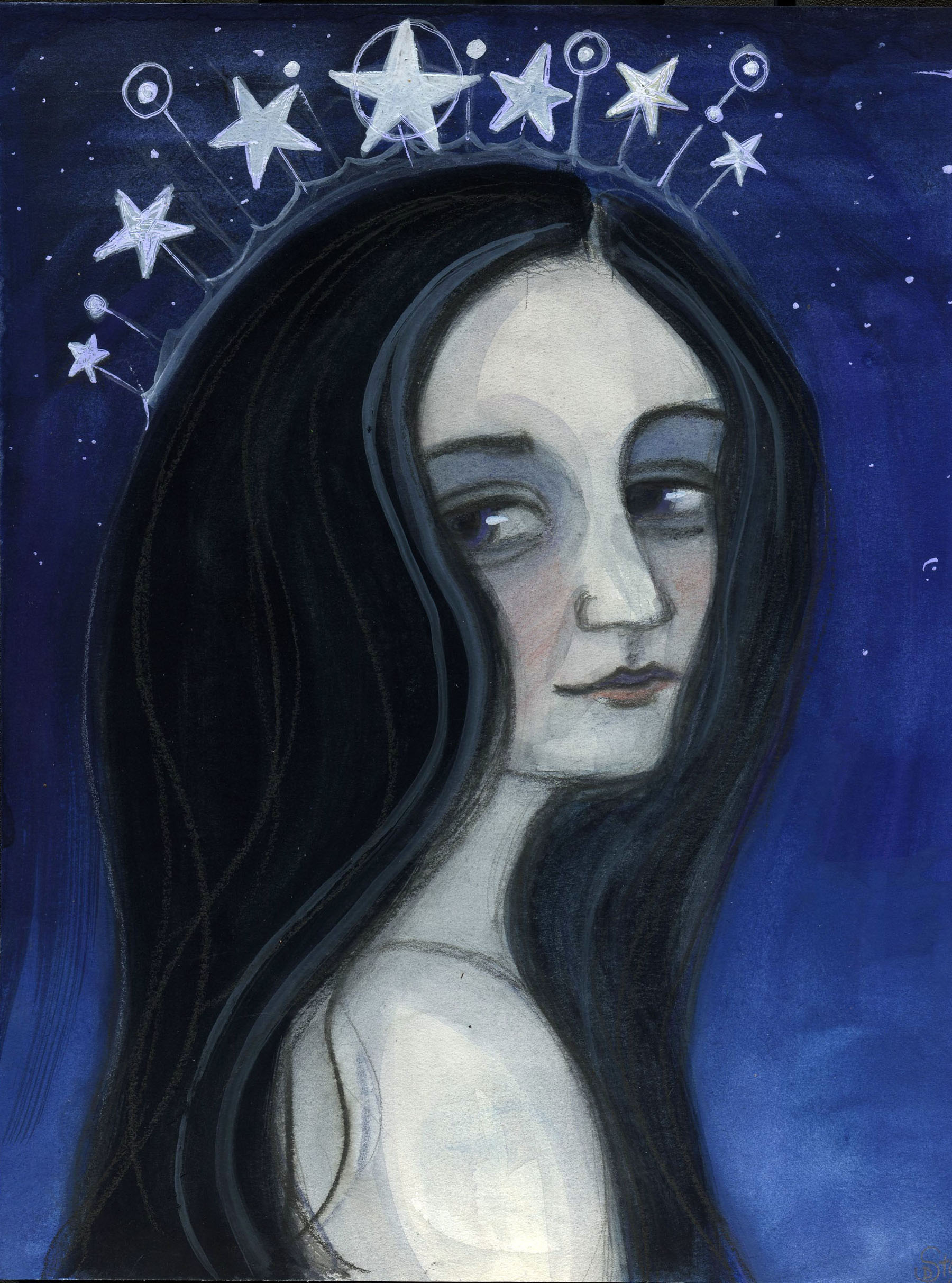 With Her Head in the Stars