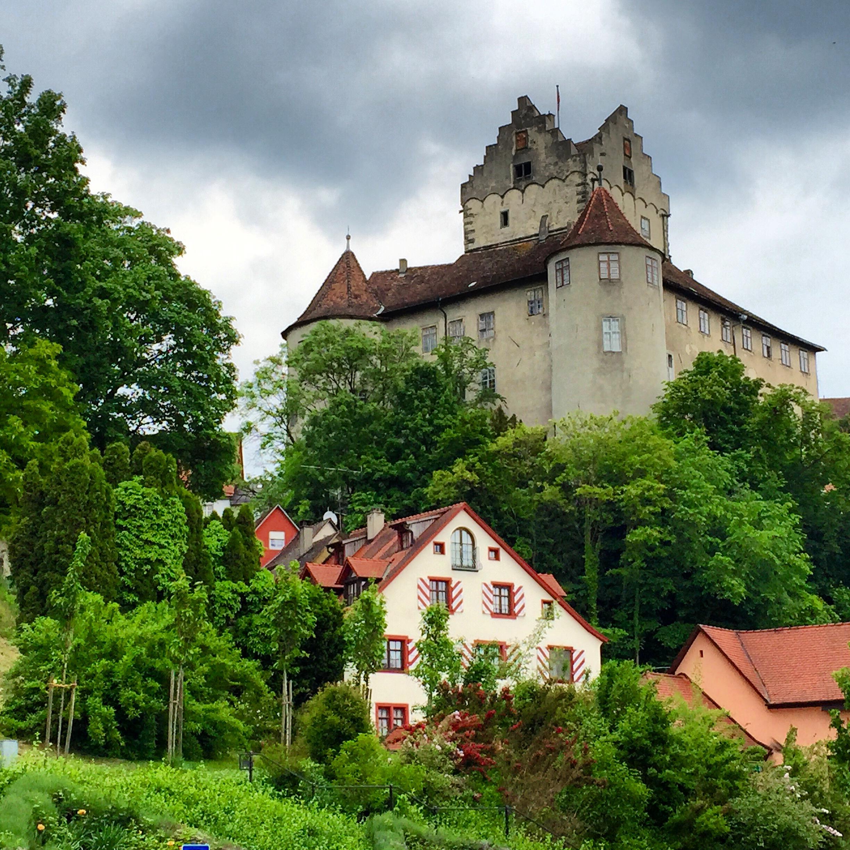 The old castle of Meersburg