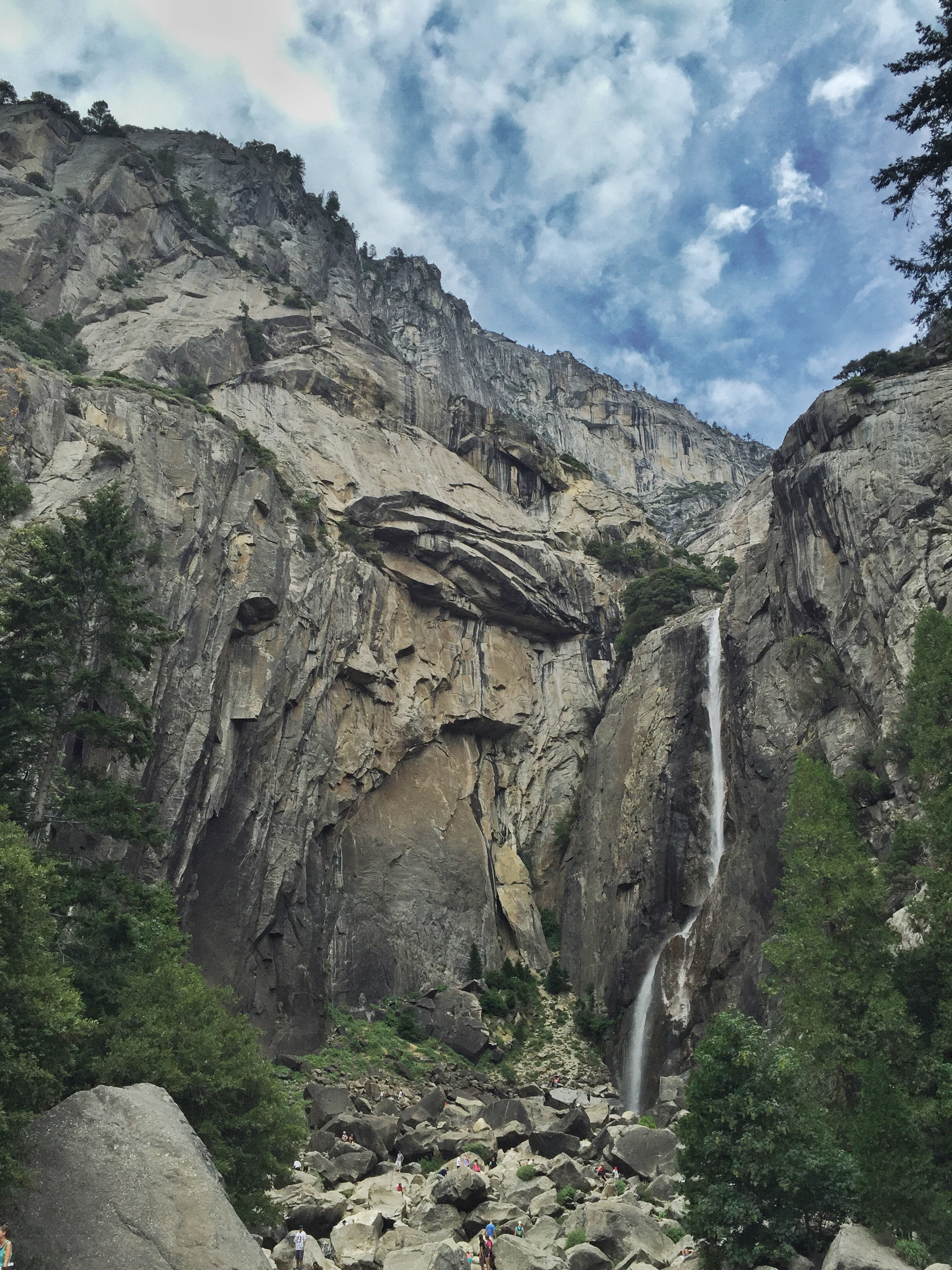 Yosemite Falls in summer. Photo by Jacqueline Kehoe