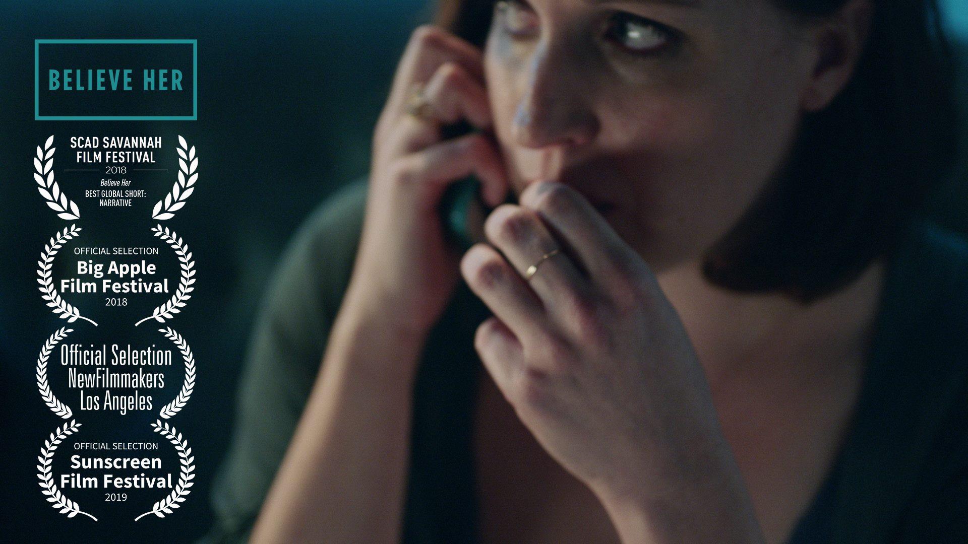 "Allison Tolman in ""Believe Her"""