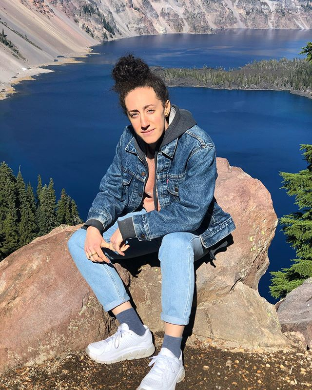 checking out some nature before it's all gone! thanks for coming to visit @davidrowen_ #jeans #jeanjeans