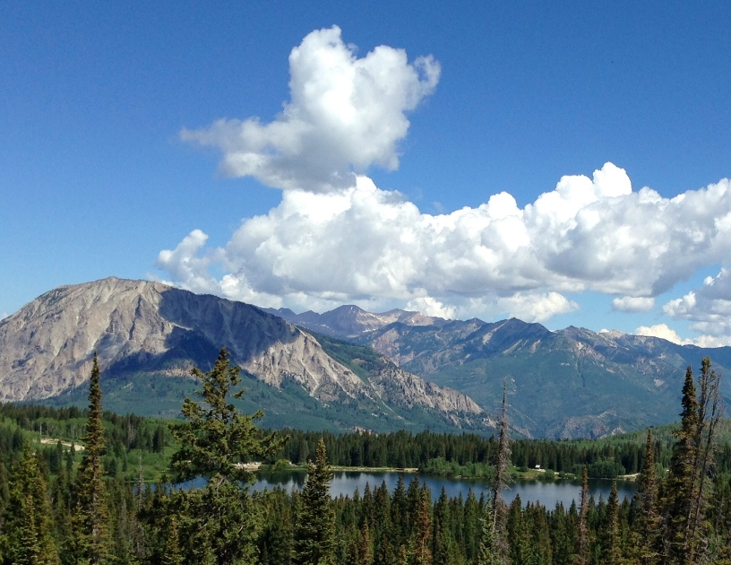 Lost Lake, near Crested Butte, Colorado (photo: Melanie Rice)