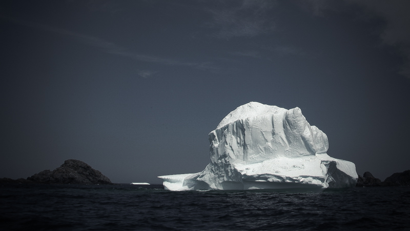An iceberg off Twillingate, Newfoundland. (Photo: Tyson Sadler)