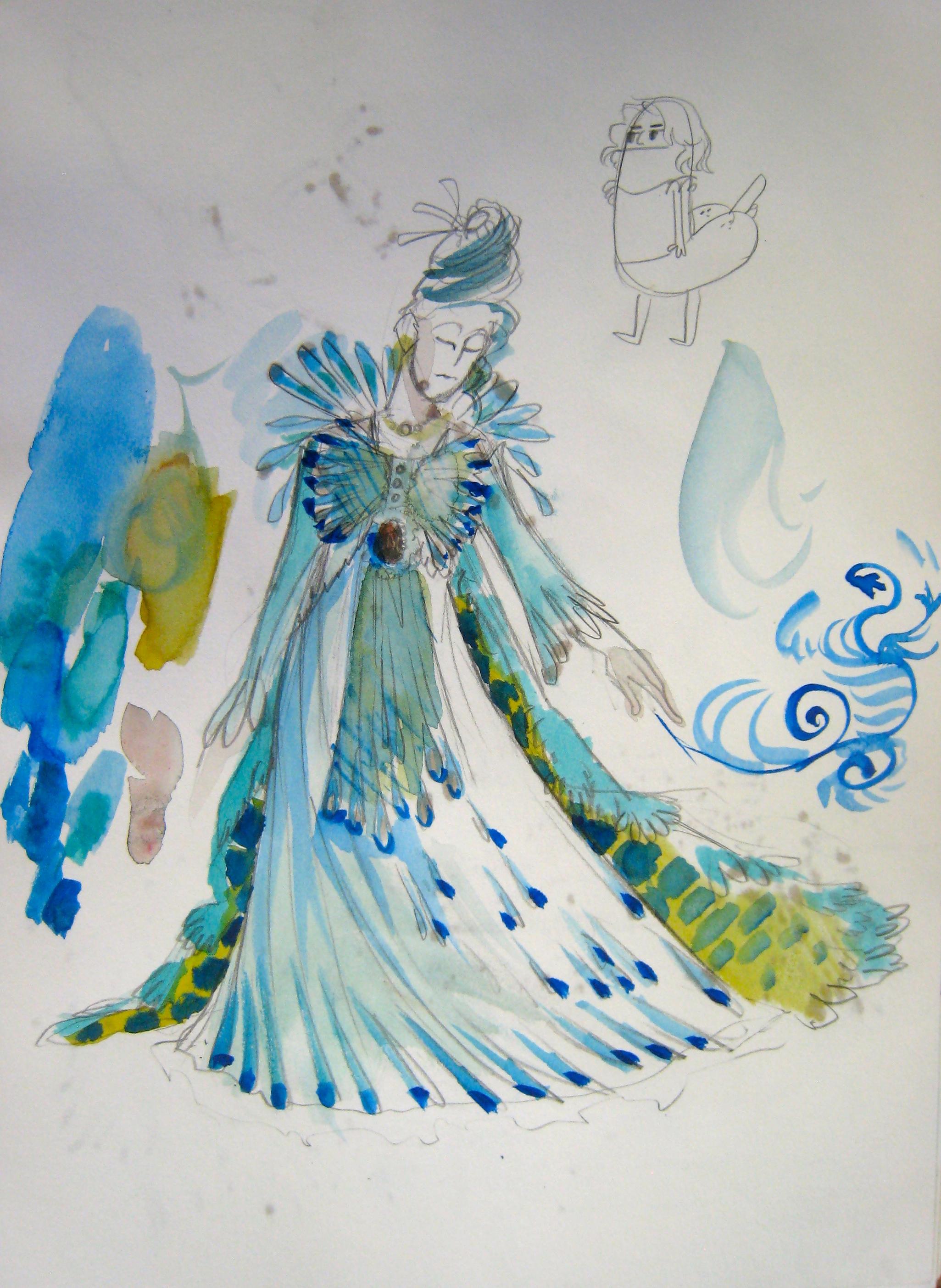 Megan Kelchner, watercolor, 2014