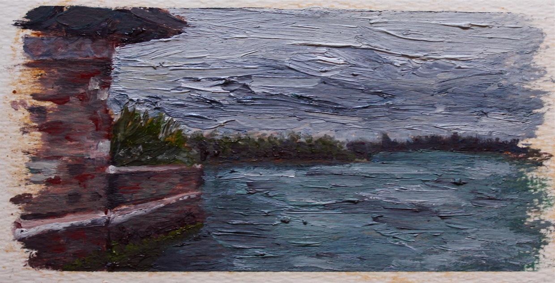 Shannon Murphy, oil on paper, 2013