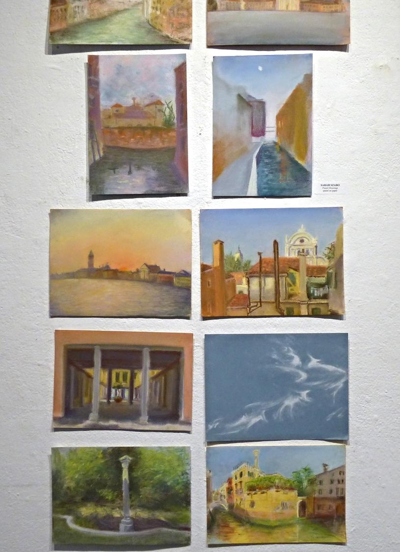 Sarah Szabo, Pastel Drawings , series of pastel on paper, 2013
