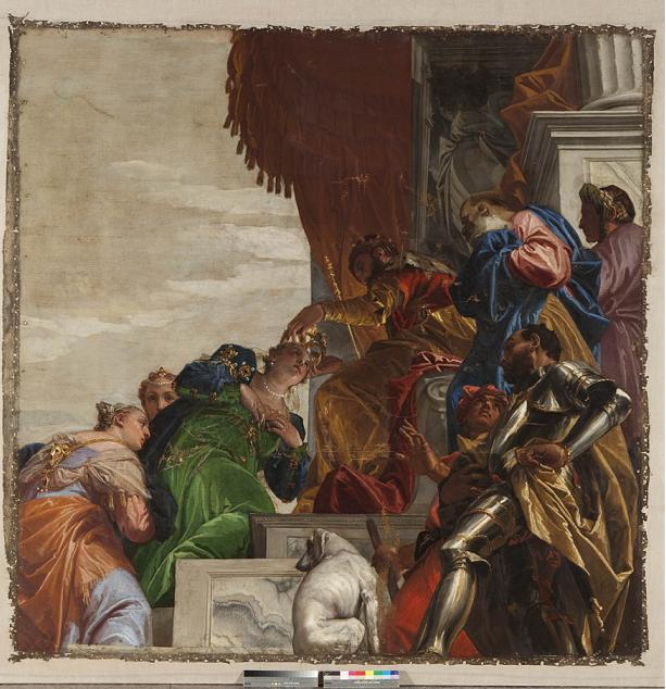 Paolo Veronese,  The Crowning of Esther