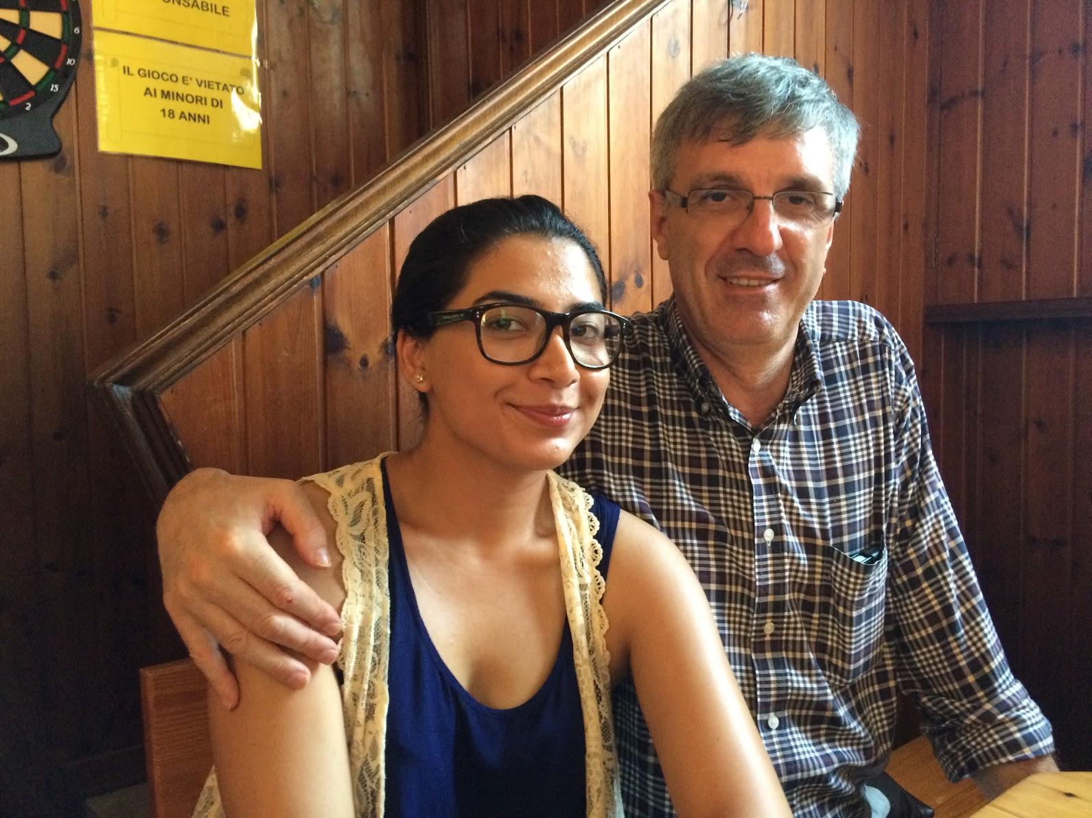 Minaa and Massimo.