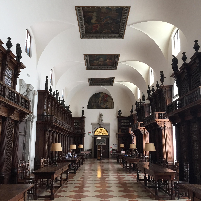 Cini Foundation Library interior.