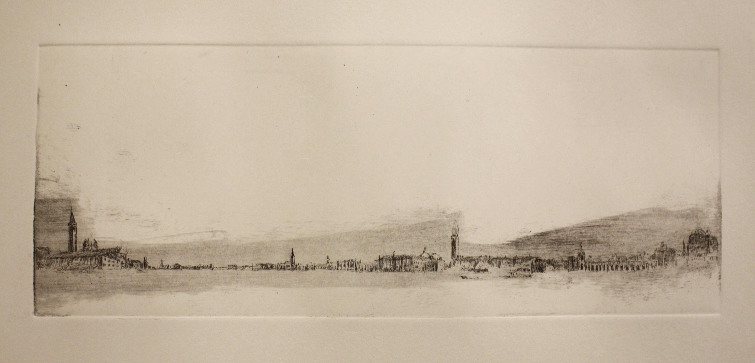 YIYI WANG   Venice in B&W 1   etching