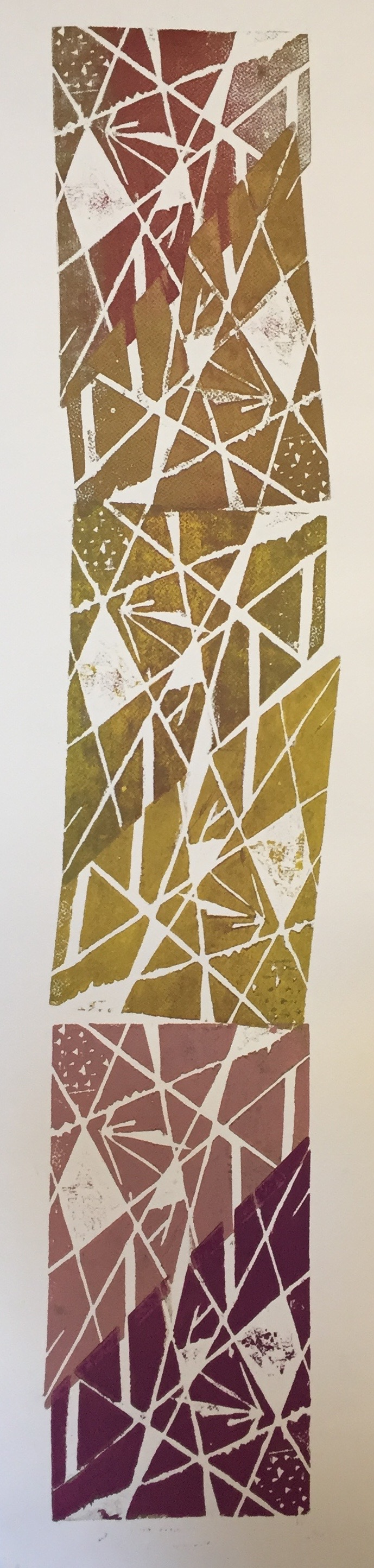 NINA SWISTEL   Untitled   woodcut