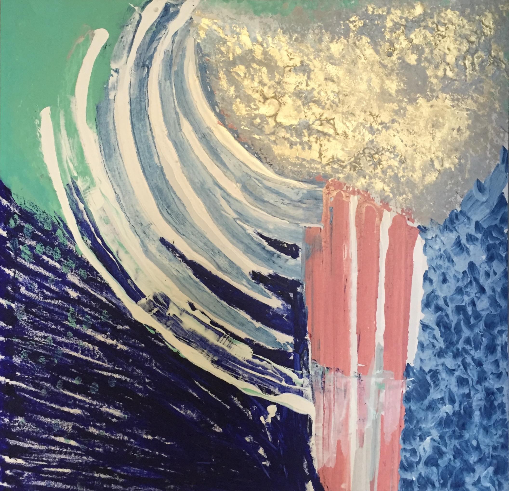 NINA SWISTEL   Untitled   Venetian pigments, gesso, acrylic on canvas