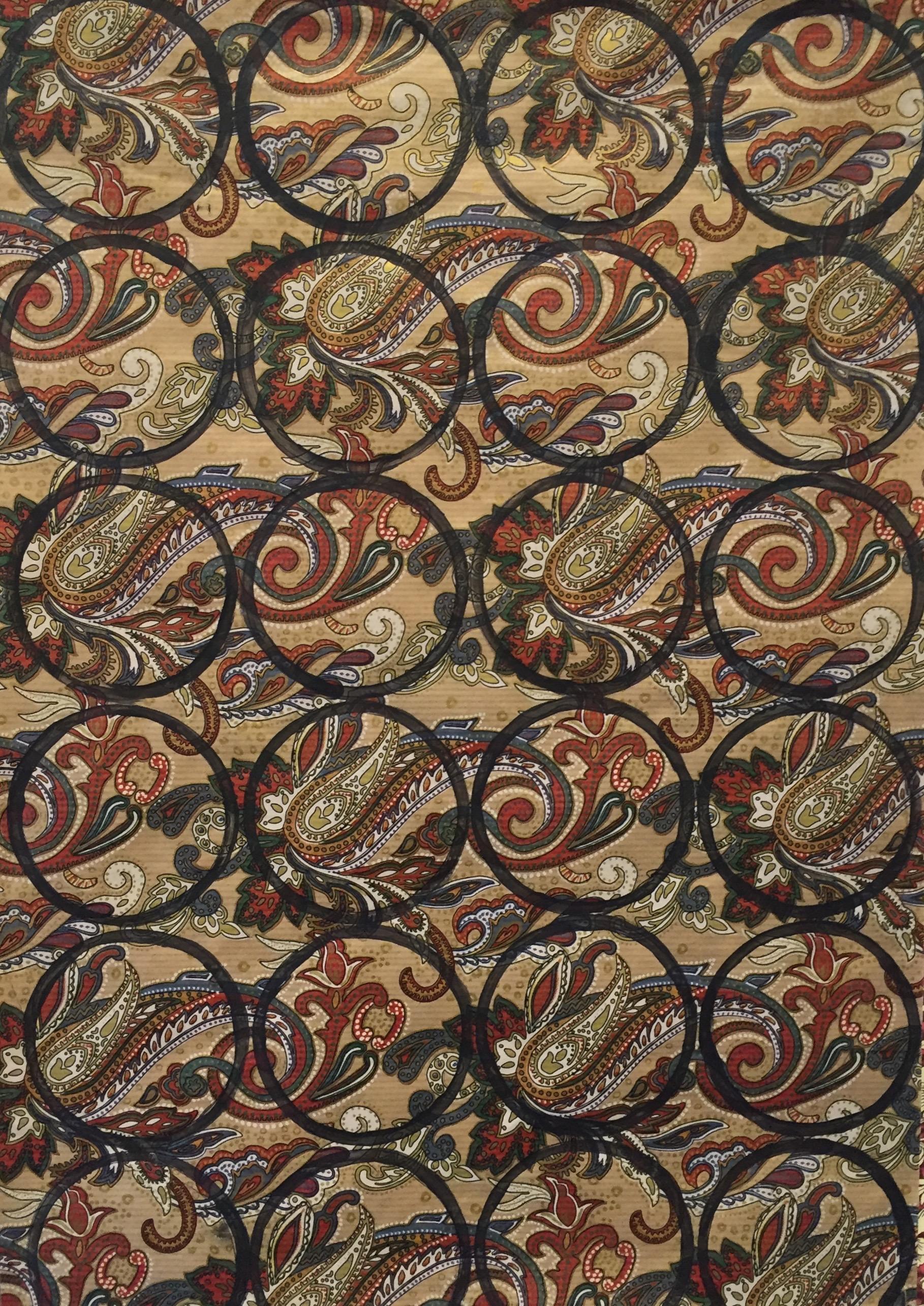 MINAA MOHSIN   Untitled - detail   mixed media on paper